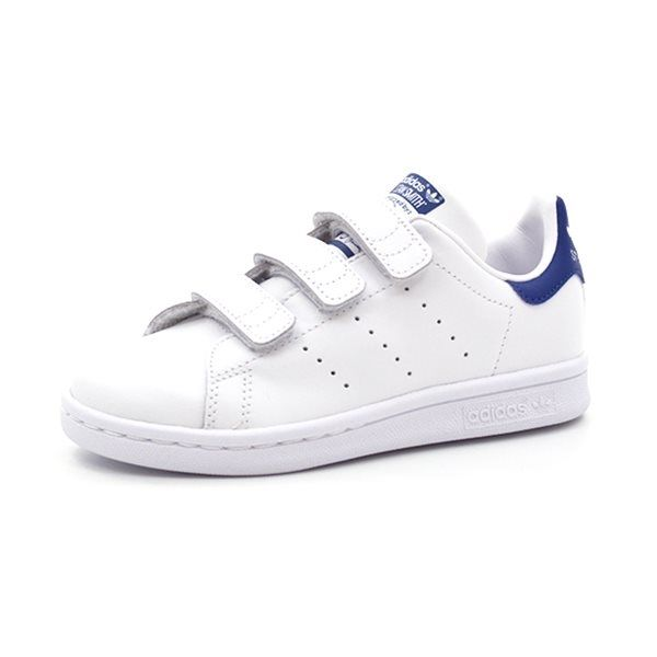 adidas Originals Sko Stan Smith Hvid m. Velcro