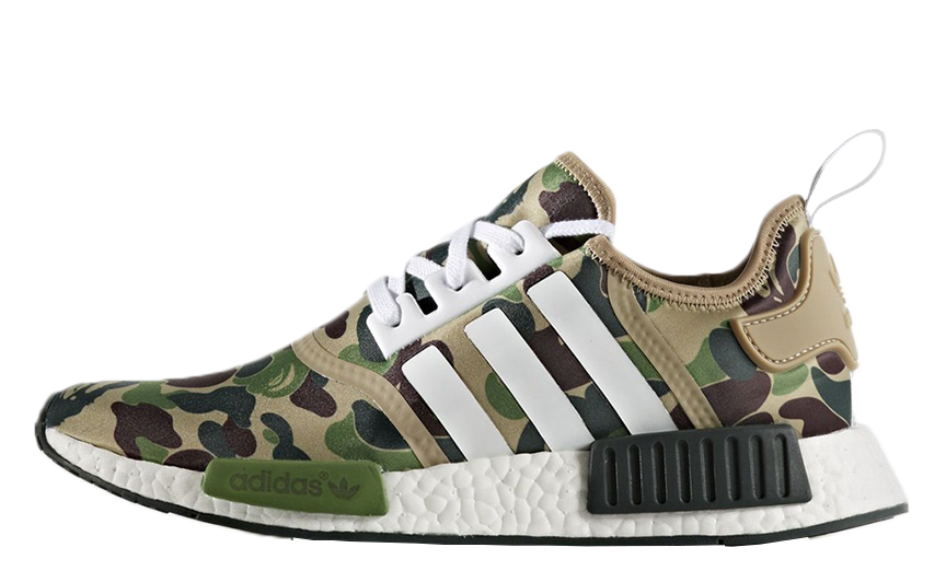 A Better Look at the BAPE x Neighborhood x adidas… Sneaker